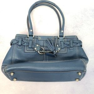 Blue Authentic Coach Handbag